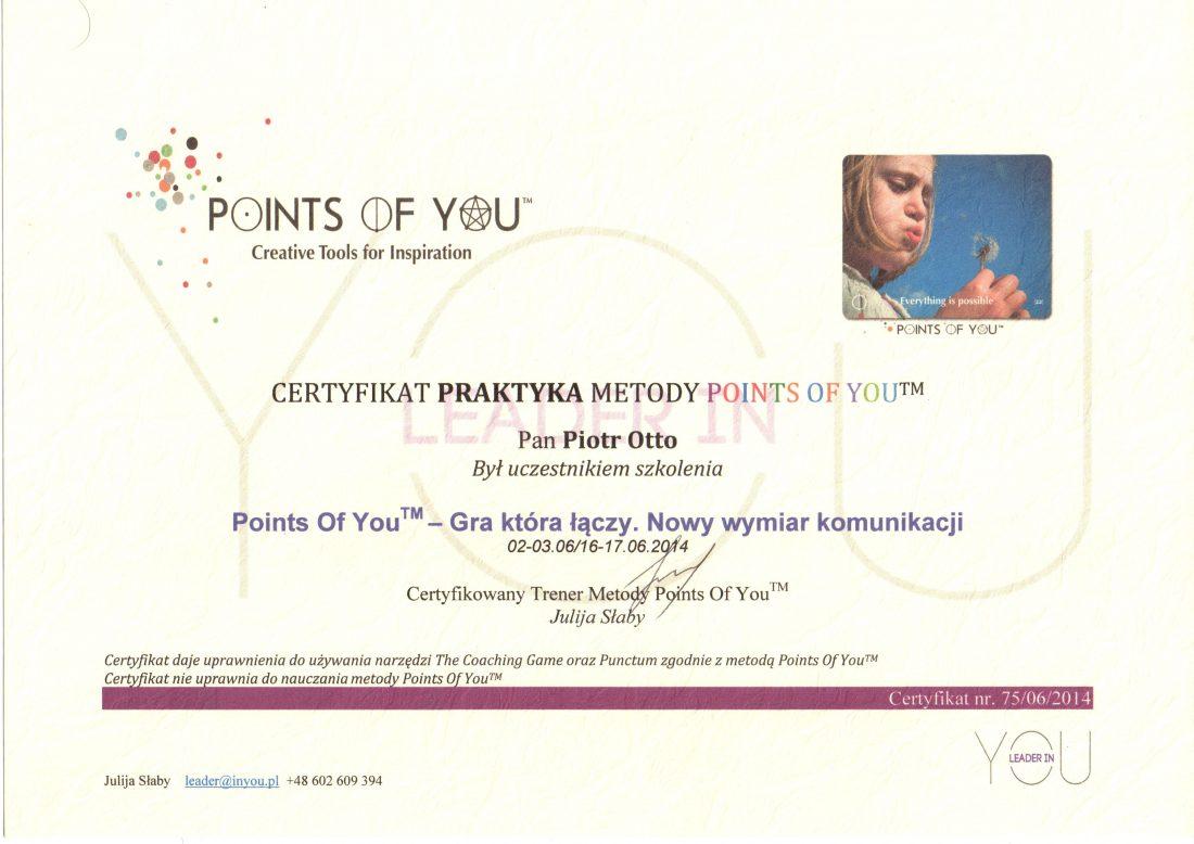 Praktyk Points Of You