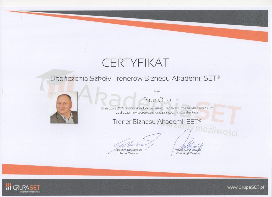 Trener Biznesu SET Group