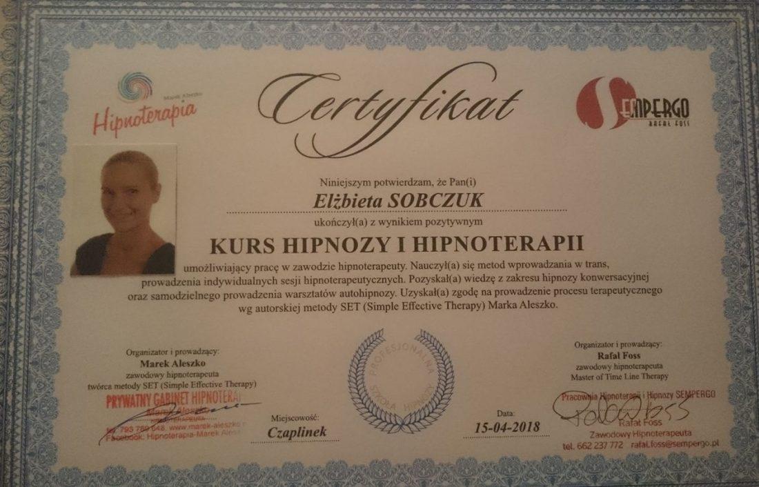 Profesjonalna Szkoła Hipnoterapii SET