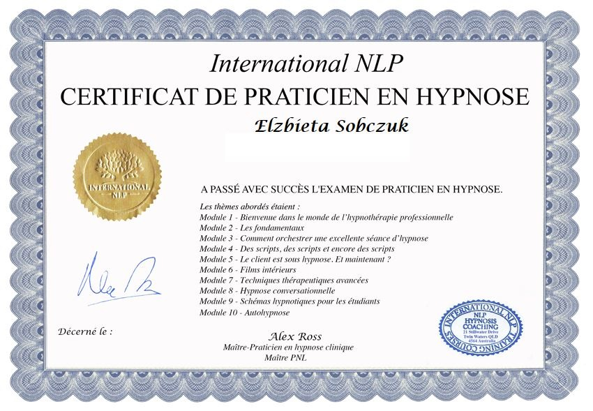 Professional Hypnosis Training Institute