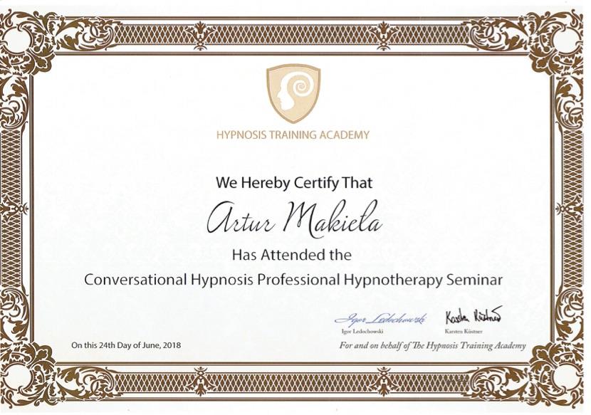 Profesjonalna Szkoła Hipnoterapii