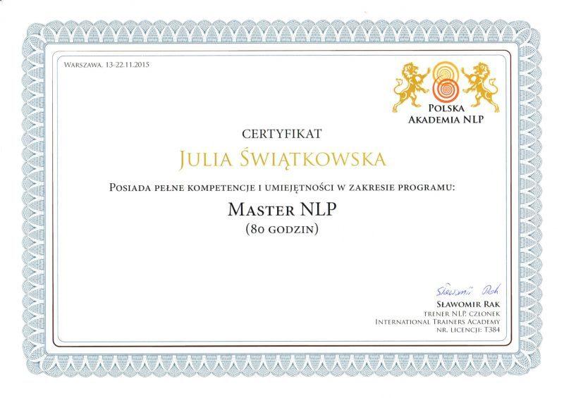 Master NLP Polska Akademia NLP